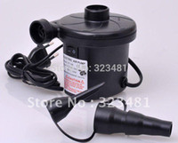 bedding ads - HT AD V Electric Air Pump for air boat bed sofa Inflator deflator Inflatable pump