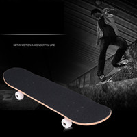 Wholesale 4 wheel skateboard Adult professional four wheel maple road plate Become warped plate