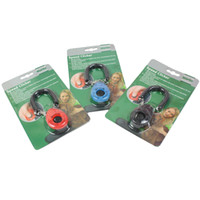 dog clicker - New Dog Pet Click Clicker Training Trainer Colors Blue Red Black Oval Shape