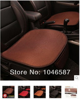 Wholesale car seat summer viscose upholstery single four seasons general single cushion Summer cool and refreshing car seat cushion