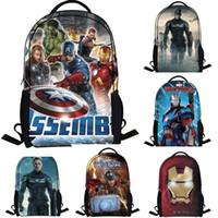 Cheap Kids Backpacks Best Iron man school bags