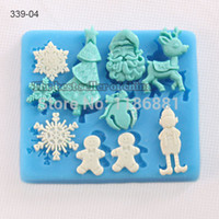 Wholesale 2014New eco friendly real new arrival cupcake candy jelly fondant cake chocolate soap mold d silicone baking pan decorating cookingtools