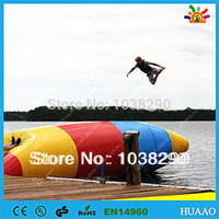 Wholesale lowest price inflatable water blob jump for sale with free CE UL pump and repair kit
