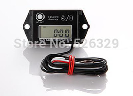 Free Shipping!Tiny Tach Gasoline Engine Tachometer Hour Meter