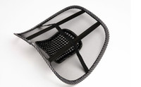 Wholesale Car Seat Office Chair Massage Back Lumbar Support Mesh Ventilate Cushion Pad EMS