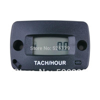 Wholesale pieces Digital Gasoline Engine Hour Meter Tachometer For Racing Sports KTM Motorcycle Jet Ski Snowblower