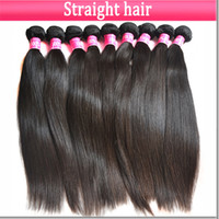 Wholesale Brazilian Peruvian Malaysian cambodian hair extensions bundle straight hair weave