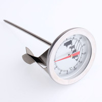 Wholesale Stainless steel pointer thermometer coffee thermometer iron cappuccino