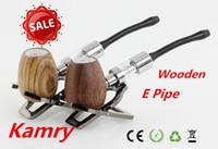 Cheap 2014 Hot Sales Wooden epipe k1000 Electronic Cigarette wood epipe k1000 kit with 18350 Battery K1000 Tank Atomizer Huge Vapor ePipe K1000