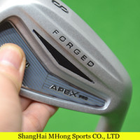 golf irons - 2014 new arrival golf clubs APEX Pro forged Golf irons set PAS with With R300 Project x NSPRO KBS Steel Shafts