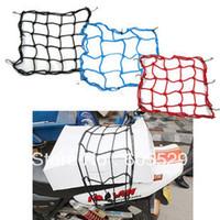Wholesale Motorcycle Bike Luggage Cargo Hook Bungee Net Helmet Holder Carrier Mesh