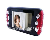 """Cheap Wholesale 2.4"""" screen 4GB Car audio Car MP3 MP4 MP5 Player with holder built-in speaker and FM Transmiter Free EMS"""