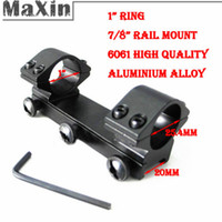 Wholesale Hunting mm Ring Weaver mm Mount Rail with Large Screws for Rifle Scope Sight