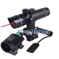 Wholesale Super red Dot laser Sight Adjustable Remote Laser Scope for Rifle Gun Switch Mounts II riflescopes
