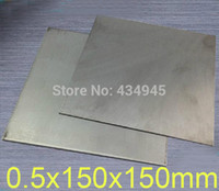 Wholesale 0 mm thickness x150mm titanium Ti plate titanium sheet and plate GR2 dynamic plates
