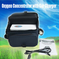 Wholesale CE FDA Portable Oxygen Concentrator Low noise Home Travel carry bag Free shiping by DHL
