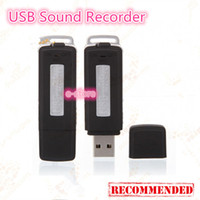 Wholesale Mini GB Memory USB Flash Drive Digital Audio Voice Recorder Dictaphone USB Recorder Sound Recorder