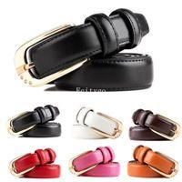ladies belts - Lady Skinny Leather Belt Leather Belt Waistband colors fx293