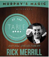 Wholesale At the Table Live Lecture by Rick Merrill magic teaching video magic tricks send via email Card magic