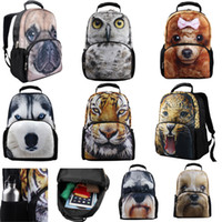 Wholesale US Sock D Animals Casual Student School Laptop Tablet Bag Bags Daily Use Backpack Fashion Bag Shoulder Bag