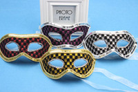 Wholesale Masks Masquerade Ball Decoration Carnival Accessories Handmade Half face Mixed Colors New Plastic Masks Festive Party Supplies