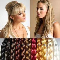 Cheap Women's Synthetic Hair Band Plait Elastic Bohemia Hair Bands Hair ties Hair ring hair wear Hair Accessories