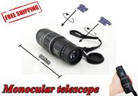 Cheap Wholesale-Monocular Telescope 16x52 hd Dual Focus 16*Zoom 66M 8000M Field Green Film Hunting Concert hand telescope cup football match