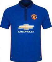 Wholesale 2014 Manchester RD Soccer Jerseys Blue Football Wears New Arrival Brand Top Thailand Soccer Uniform Cheap Sportswear