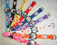 Wholesale Cartoon D Kids Watches Frozen Anna Soft Silicone Band Christmas Gift Watches Promotional Watches cheaporder