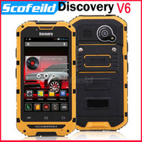 Android discovery v5 - 4 quot IPS IP68 G Waterproof Shockproof Android Cell Phone Discovery V5 Update Discovery V6 MTK6572 Dual Core M G Android