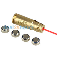 Wholesale mm Red Laser Dot Boresighter Bore Sight Caliber Cartridge Boresight Hunting for Handguns Rifle