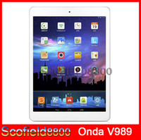 Wholesale Onda V989 Allwinner A80T Octa Core tablet inch Rtina Android Tablet PC GB RAM GB ROM Android kitkat