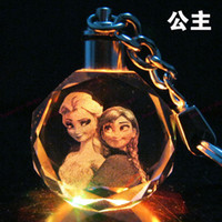Wholesale Hot Sale Children s jewelry ANNA ELSA Frozen colour crystal pendant