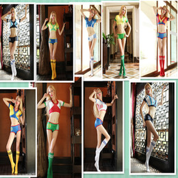 Wholesale Hot Sale Sexy Football Cheerleading Costumes For Women New Fashion Exotic Apparel Game Clothing High Quality Dropshipping
