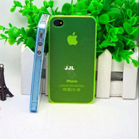 Wholesale MOQ PC MM Ultrathin Hard Cases Cover Shell For Apple Iphone4 S Case For iPhone4S G PSN IE8HD SK IOE3