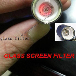 Wholesale honeycomb Glass Screen filter for atmos raw junior jewel rx mini ago g5 snoop dogg dry herb atomizer ego e cigarette herbal vaporizers pen