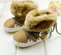 Wholesale 2014 hot new baby soft bottom first walkers baby shoes Cotton padded snow boots inner size cm12cm cm