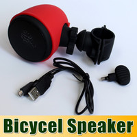 Wholesale Sports Bicycle Bike Speaker Bicycle Speaker MP3 Player with Bluetooth Speakers with Bike Holder