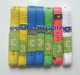 DHL Free shipping Body Tape Measure Length 150Cm Soft Ruler Sewing Tailor Measuring Ruler Tool Kids Cloth Ruler