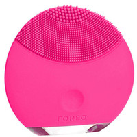 Wholesale Rechargeable Foreo Luna mini ultrasonic beauty instrument super facial cleaner