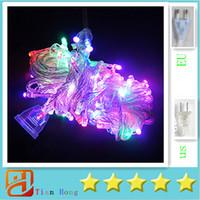 LED twinkle lights - Christmas X5pcs ePacket Led String colors M LED String Lights flash light Christmas party Fairy wedding lamps Twinkle light