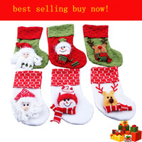 Wholesale Christmas decorations gifts and beautiful christmas stockings cm long
