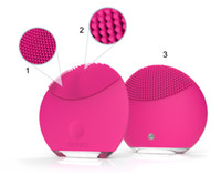 Wholesale Original rechargeable Foreo Luna mini ultrasonic beauty instrument super facial cleaner