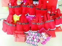 Wholesale Hot sell Christmas Elf candy bags pants shape Christmas gift