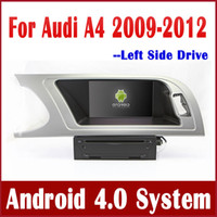 Wholesale Android Head Unit Car DVD Player for Audi A4 with GPS Navigation Bluetooth Radio TV USB AUX G WiFi Stereo Navigator