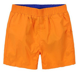 Wholesale New summer men s beach shorts horse embroidered shorts fashion leisure swimming shorts men swimwear men