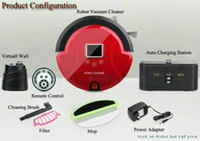 robotic - FREE SHIPP Positive In Robotic Vacuum Cleaner Sweep Vacuum Mop Sterilize LCD Touch Screen Schedule Way Virtual Wall Self Charge