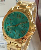 Wholesale New Luxury brand mK Rose Gold Steel Quartz casual watches women rhinestone dress wristwatch lady men military watch
