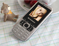Cheap Metal Low cheap Cell phone lenovo with troch loud speaker with dual sim Russian menu and English keyboard items Free shipping