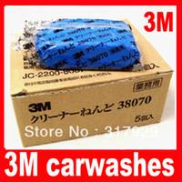 Cheap New 10pcs lot 3M 180g Car truck Magic Clean Clay Bar 38070 Carwashes Auto Detail Cleaner Clay Bar Wash Sludge Free Shipping